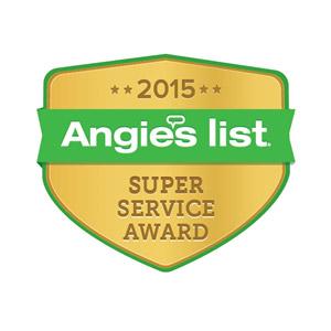 Angie's List - 2015 Super Service Award